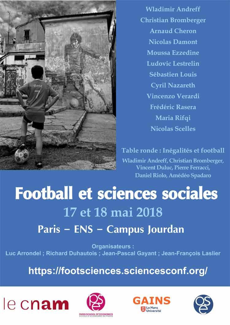 Conférence : Football et sciences 2018